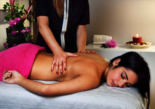 Different types of massages and treatments